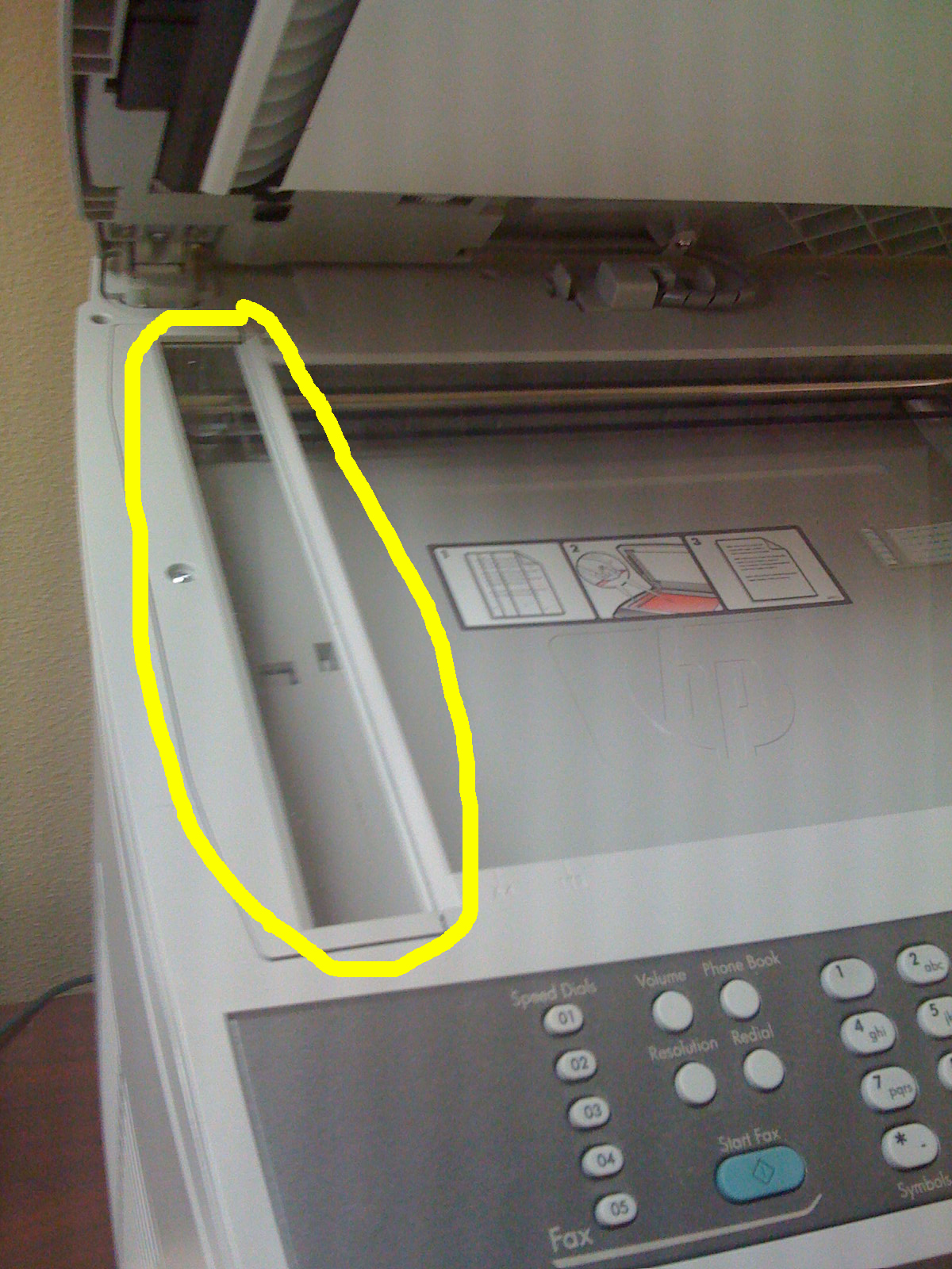 How To Get Rid Of That Black Line On A Fax Or Scanned Document